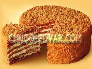 Рецепт приготовление торта рыжика