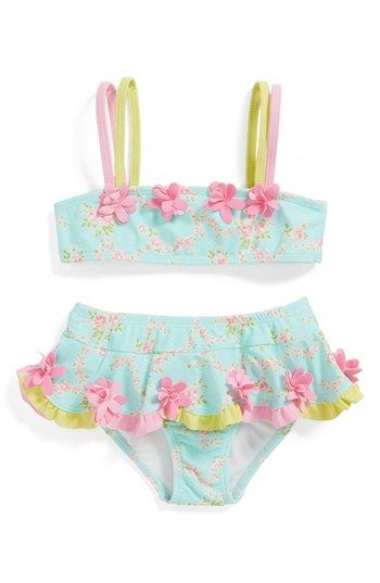 Emmie needs this! Kate Mack Two-Piece Swimsuit (Toddler Girls) available at #Nordstrom