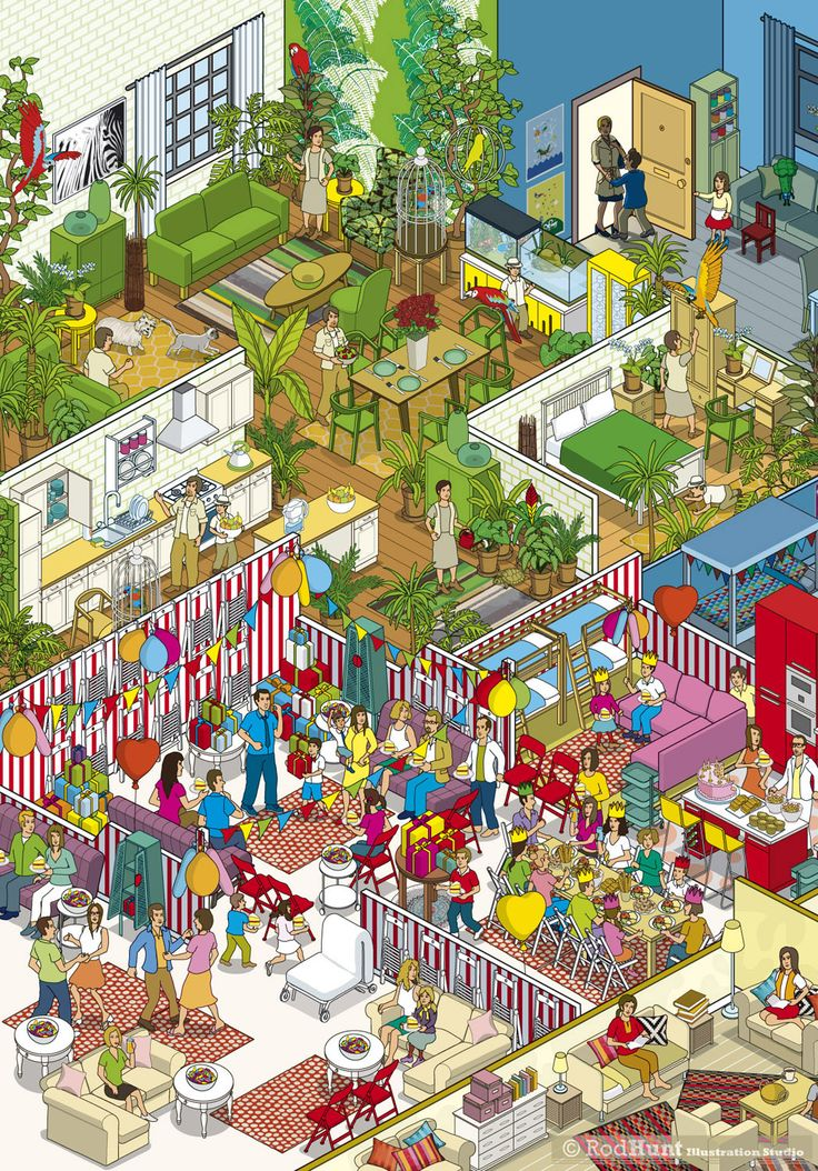 IKEA - Families & Apartments Advertising Campaign