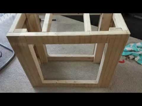 DIY 15/20 Gallon Aquarium Stand Part One - YouTube