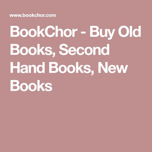 BookChor - Buy Old Books, Second Hand Books, New Books