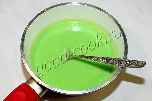 цветная зеркальная шоколадная глазурь