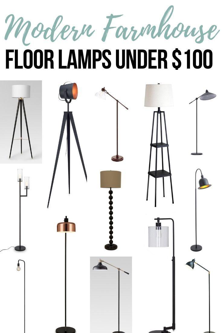 14 Modern Farmhouse Floor Lamp Ideas