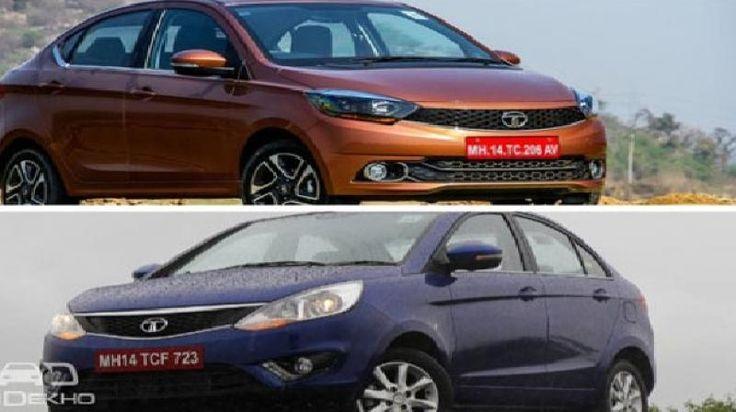 Two Tata cars clash each other Tata Tigor Vs Tata Zest