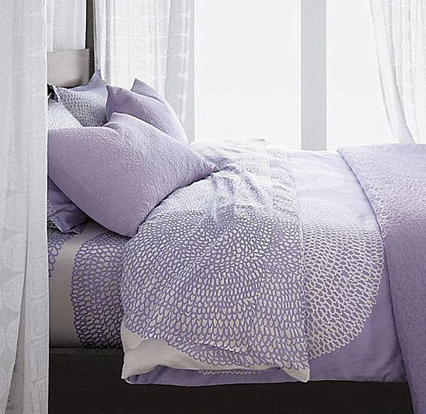 lavendar purple duvet | Stylish Bedding for Teen Girls
