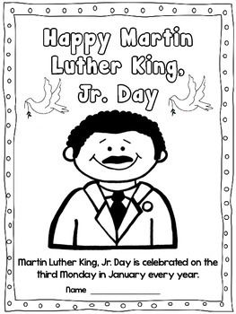 Martin Luther King Activities Jr Freebies
