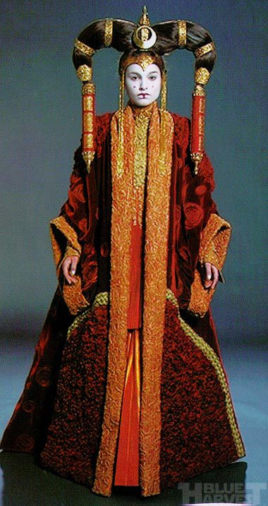 Padme/Queen Amidala's costumes for Star Wars Episode 1 ...