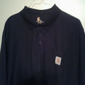 I just added this to my closet on Poshmark: Navy Carhartt pullover. Price: $15 Size: XL