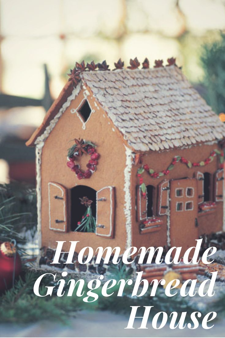 Nothing is more traditional and fun than building a gingerbread house with your loved ones.