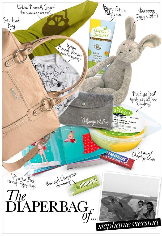 The Diaperbag of... Stephanie Viersma - Pret a Pregnant