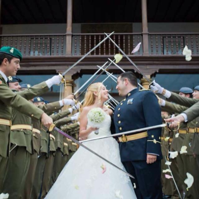 Military wedding @Luz_Martin