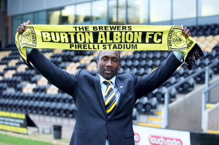 Jimmy Floyd Hasslebaink appointed as Manager of Burton Albion F.C. ...