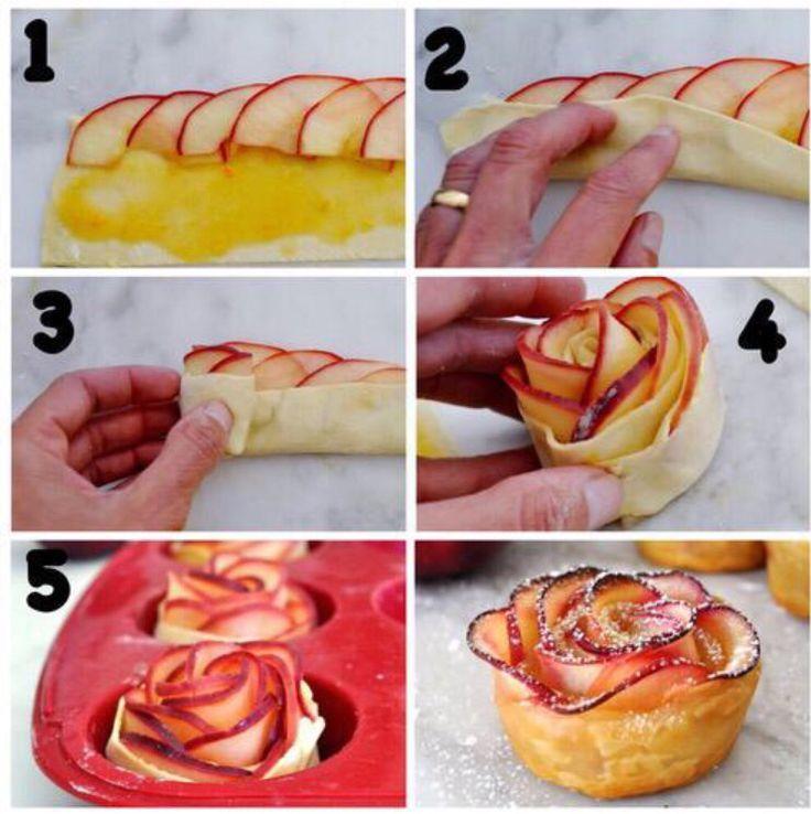 Apple roses  Roses à la pomme