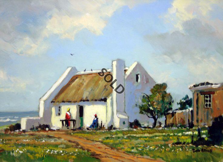 Western Cape Cottage by | Dante Art Gallery
