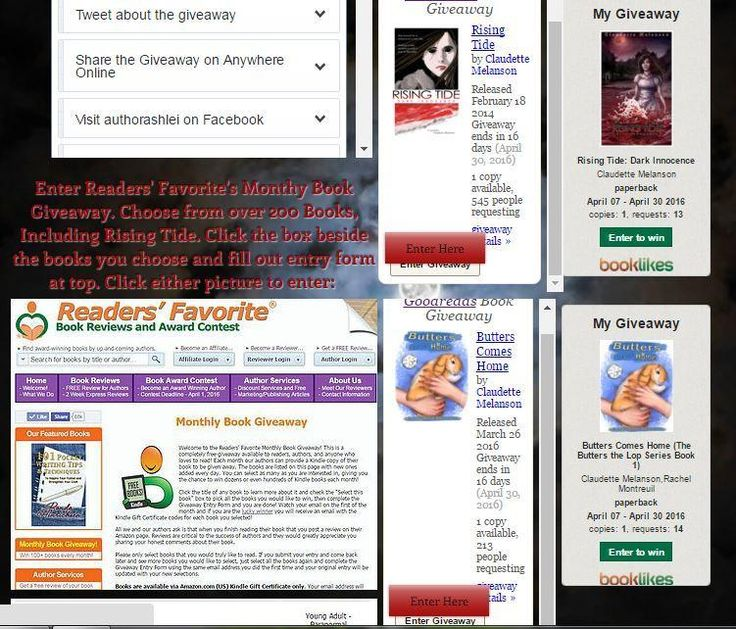 2 FREE books on 3 sites/month Visit : http://bit.ly/1montmx to find out where to enter #fridayreads #IARTG #ASMSG