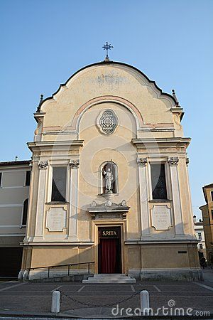 The famous S. Leonardo church in Treviso, Italy, Europe.