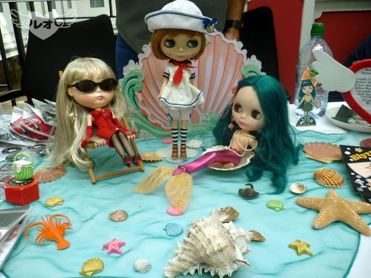 Leo COUTURE's stall at BlytheCon UK 2014