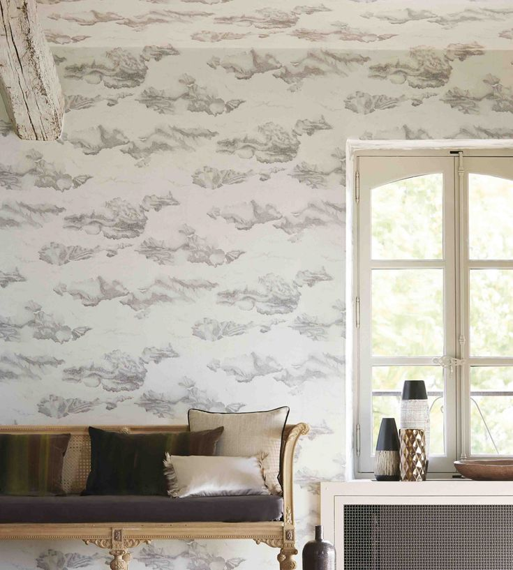 Sky and clouds | Nuvola Wallpaper by Harlequin | Jane Clayton