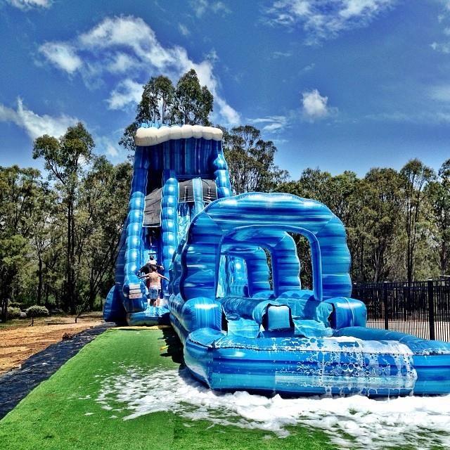 Making a big splash at Falls Festival Byron Bay this Summer