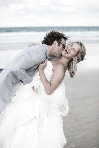 Awesome Beach wedding, Happy couple Stradbroke Island Photography - North Stradbroke Island - Wedding Gallery