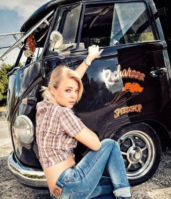 Vw 1600 Dress Up Kit: 125 Best Vw Bus Pin Up Images On Pinterest