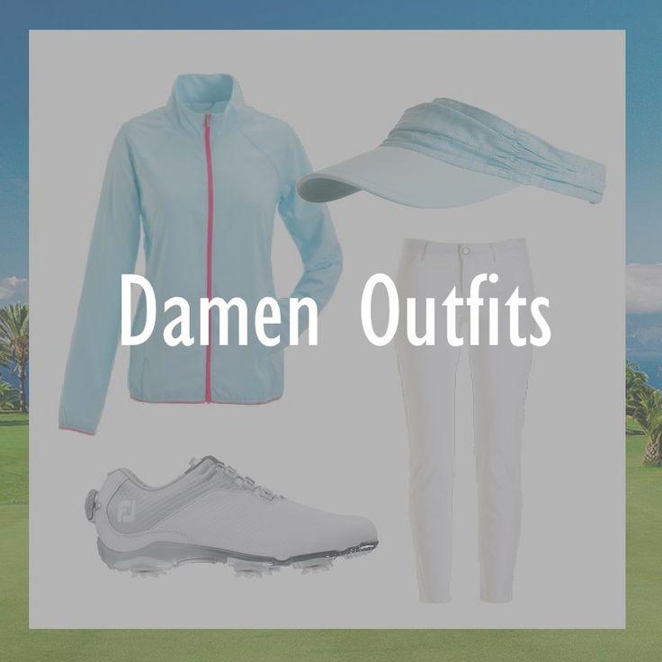 Damen Outfits für den Golfplatz auf GOLFCLUB SZENE. Für alle die Golf auch gut gekleidet spielen wollen.