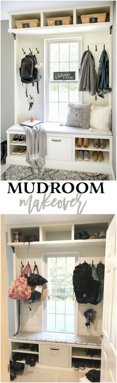 Mudroom Makeover: From Messy to Magnificent #bhglivebetter #ad