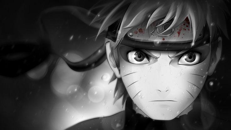 Naruto --black-and-white