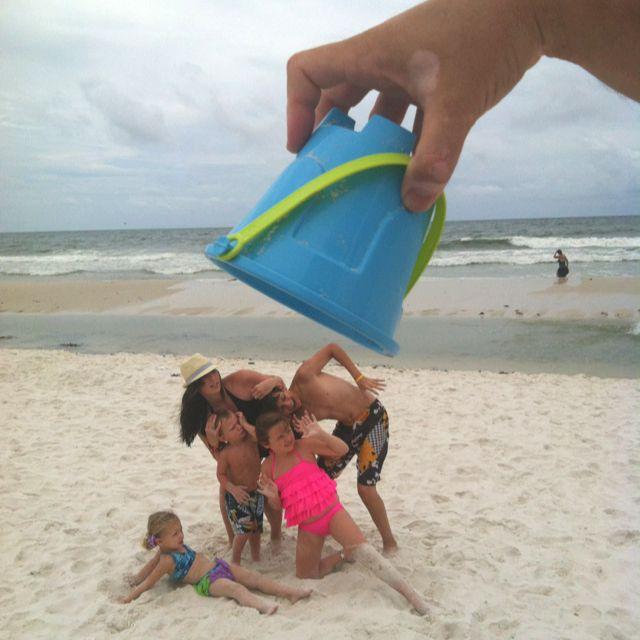 Beach fun! haha! that's funny:-)