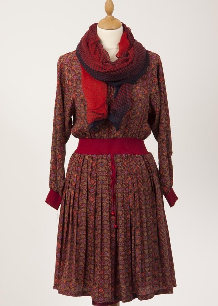 Original Vintage red dress
