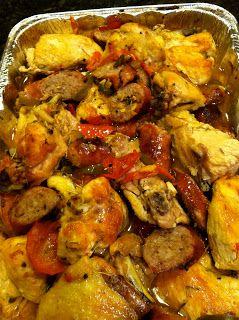 The Food Crawl: Chicken Scarpariello