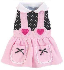 Pet Dress My Sweetheart Pink Designer Dog Apparel