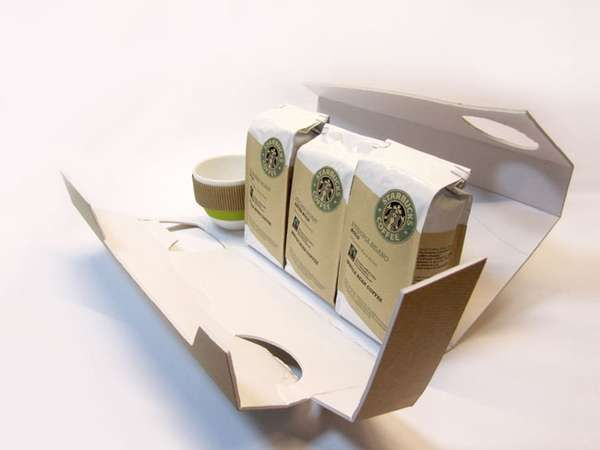 Crosswise Coffee Branding - Starbucks Special Edition Packaging Seeks a Different Approach (GALLERY)