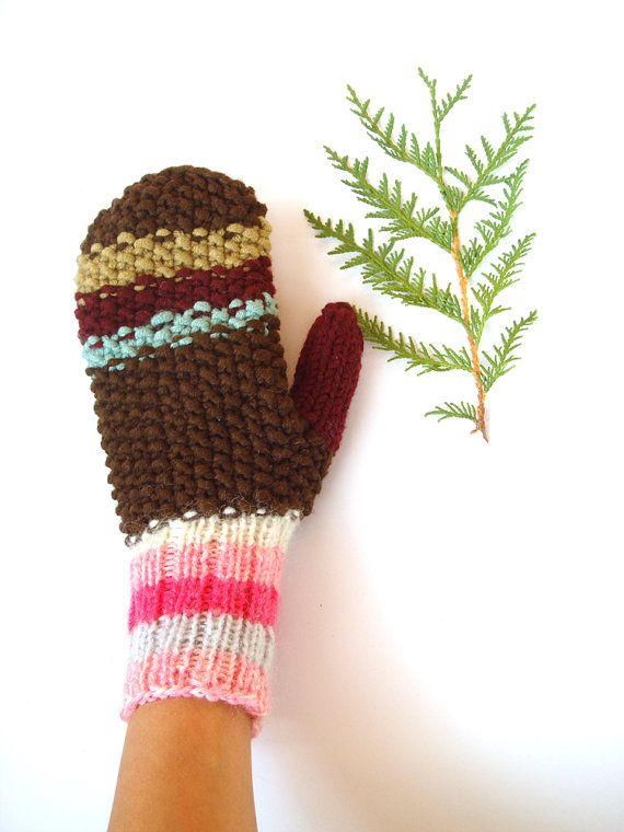 1000+ images about WINTER: WARM WOOLEN MITTENS on Pinterest