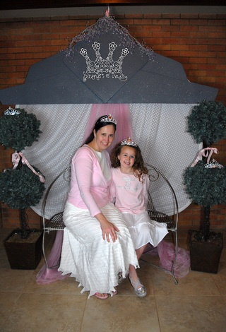 Daughters of the King. Good idea for mom & daughter banquet.