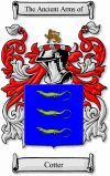 Cotter Family Crest / Cotter Coat of Arms