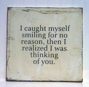 :)  I catch myself smiling a lot!