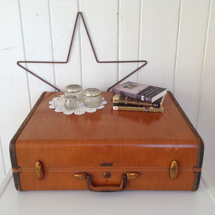 Vintage Samsonite Hard Case Suitcase / Luggage Shwayder Bros Style No 4637~ Large Brown 24 X 19 by NanAndPopsAttic on Etsy https://www.etsy.com/listing/491350249/vintage-samsonite-hard-case-suitcase