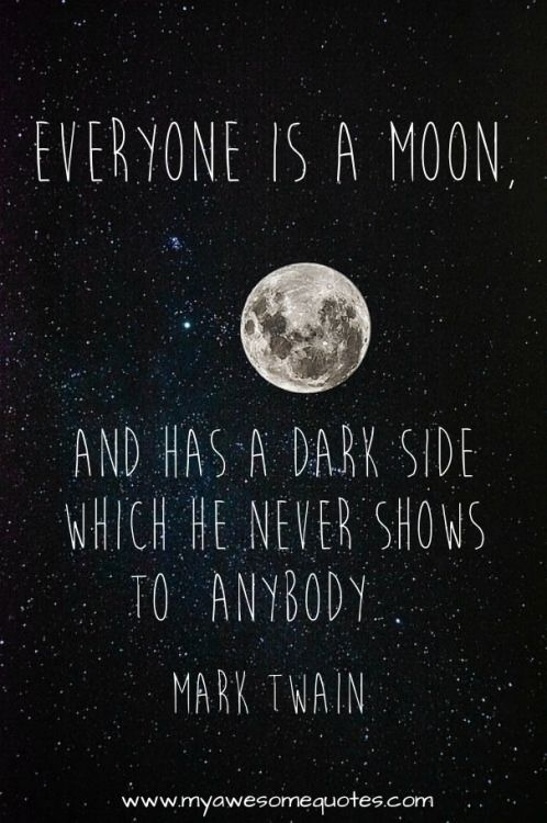Mark Twain Quote About The Moon