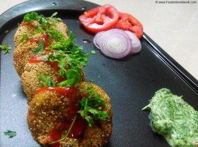 Sweet Corn Kebab Recipe | Vegetarian Kebab Recipe