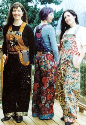 funky overalls for women small to plus size, sewing patterns for interesting clothes
