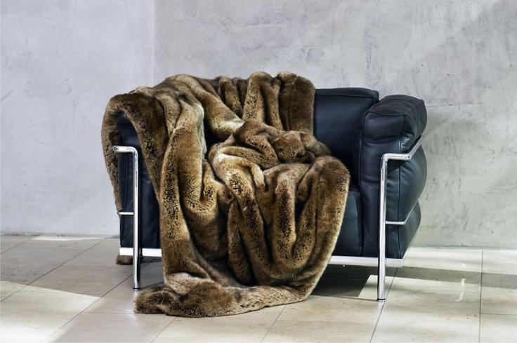 CARMA imitation fur Weasel brown