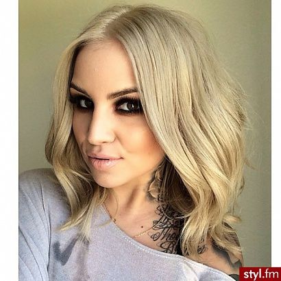 Najnowsze fryzury damskie - długi bob