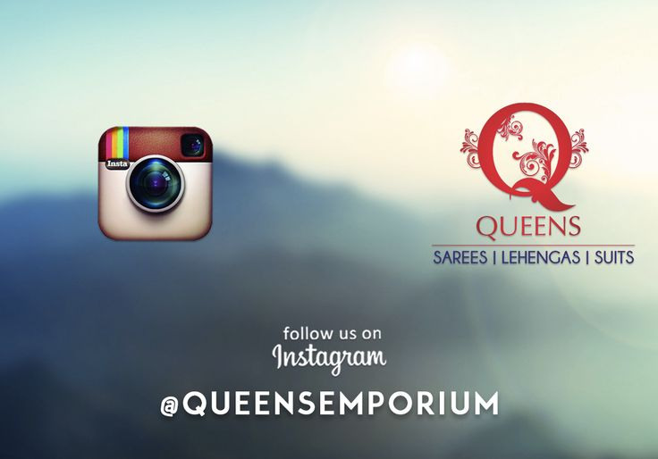 Follow us on Instagram and stay updated with our latest trends. www.instagram.com/queensemporium