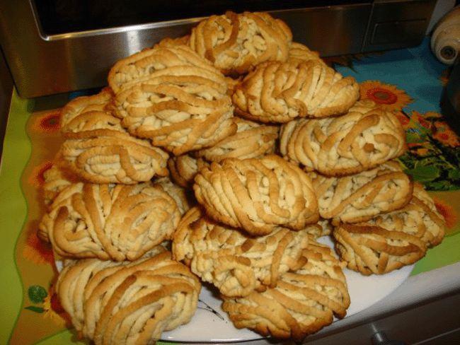 Печенье через мясорубку рецепты с фото песочное