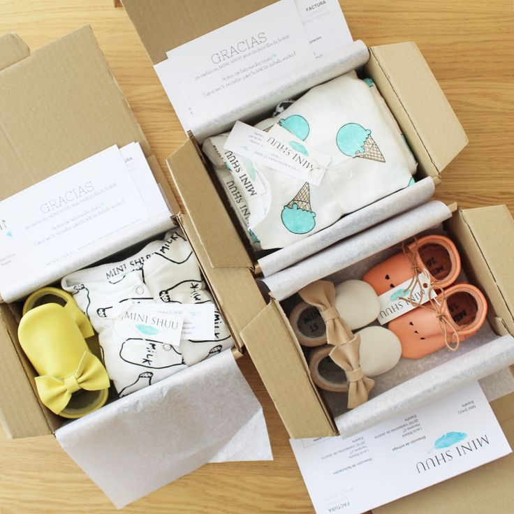 Boxes with moccs MINI SHUU ready to ship to new home!