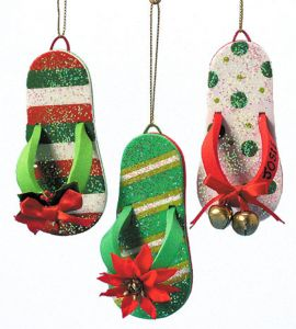 @Kathi Everett Logan Christmas Flip Flops Ideas For Planning a Classy Holiday Party | College Lifestyles