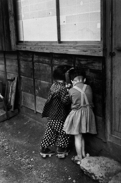 Robert Capa - Japan. Yaizu. April, 1954.
