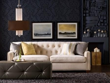 22 Beautiful Sofa And Furniture Collection By Candice Olson, Furniture  Ideas, Awesome White Sofa And Dark Couch By Candice Olson