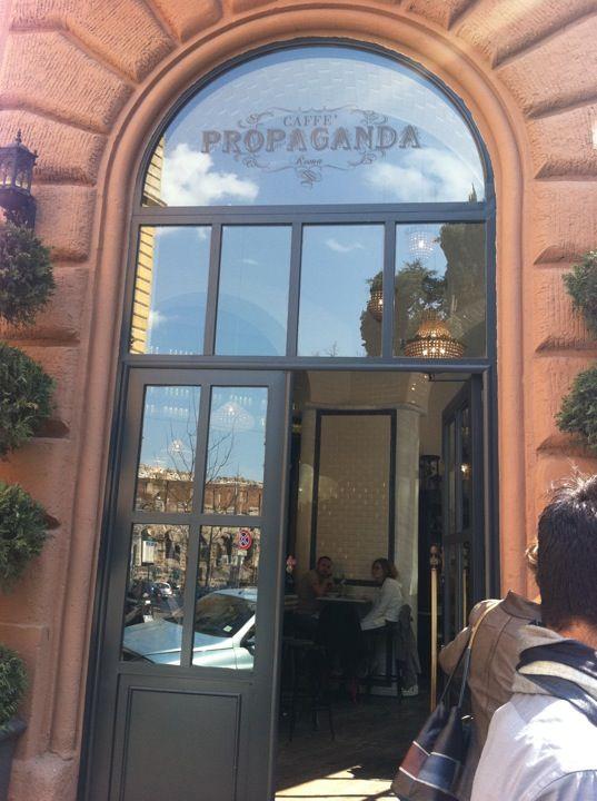 Caffè Propaganda nel Roma, Lazio